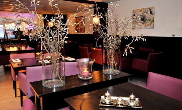 Inrichting van restaurant Mira in Nijmegen